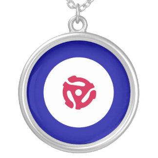 Mod Target Necklace 45rpm