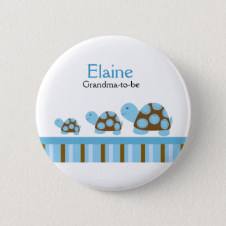 MOD TURTLES NAME TAG Personalized Button