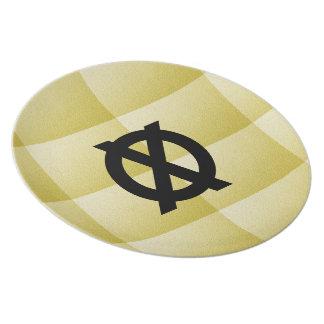 MOD-X-MUSEUM-PRIMITIVE--RAD-DESERT_GOLD_SAND'S(c) Dinner Plates