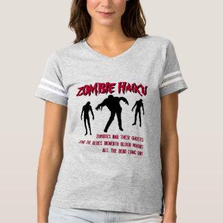 Mod Zombie Haiku Varsity Style T-Shirt
