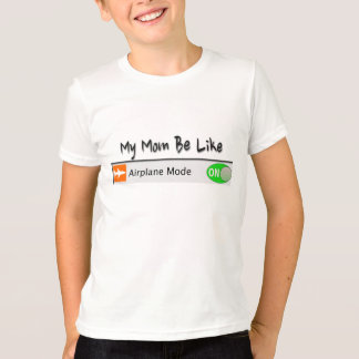 Mode d'avion t-shirt