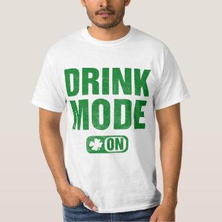 mode de boissons dessus t-shirt