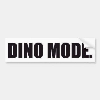 """""""Mode de Dino."""" Adhésif pour pare-chocs Autocollant De Voiture"""
