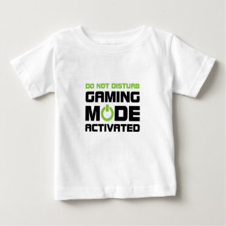 Mode de jeu t-shirt pour bébé