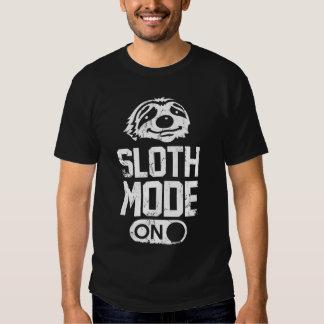 Mode de paresse dessus tee-shirt