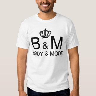mode d'image de corps de chemises tee-shirts