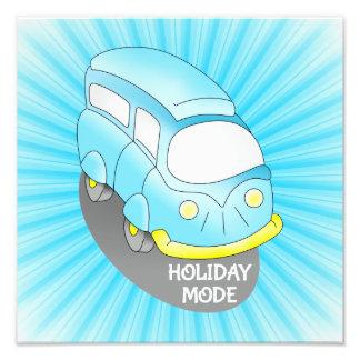 Mode Van de vacances Photo D'art