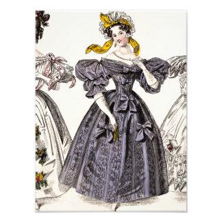 Mode vintage de Paris de 1800s - robes et chapeau  Photos Sur Toile