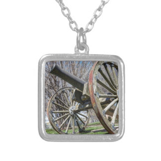 Model 1857 - Napolean Howitzer Silver Plated Necklace