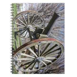 Model 1857 - Napolean Howitzer Spiral Note Book