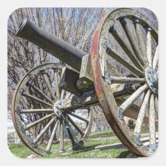 Model 1857 - Napolean Howitzer Square Sticker