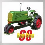 Model 60 Row Crop Poster