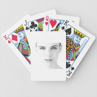 model bicycle playing cards