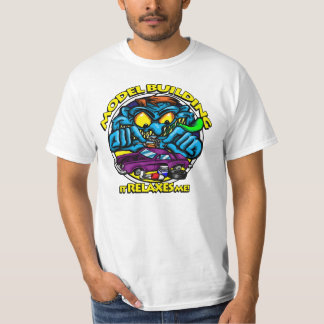 Model Building: It Relaxes Me T-Shirt