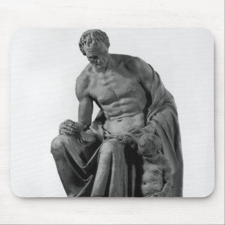 Model for a monument to Jean-Jacques Rousseau Mouse Pad