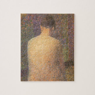 Model From Behind by Georges Seurat, Vintage Art Jigsaw Puzzle