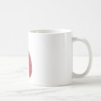 Model human kidney outside coffee mug