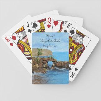 Model Key Hole Arch En Plein Air Playing Cards