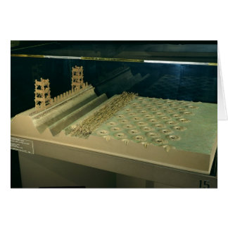 Model of Caesar's defences at Alesia Card