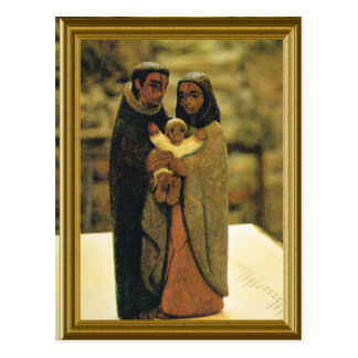 Model of Holy Family Postcard