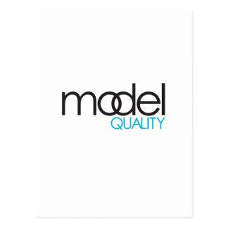 Model Quality Gear Postcard