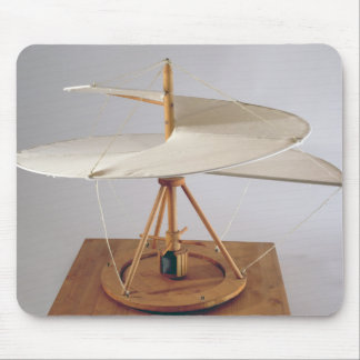 Model reconstruction of da Vinci's design Mouse Pad