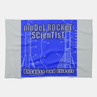 "Model Rocket Scientist ""Because and effects"" album Towel"