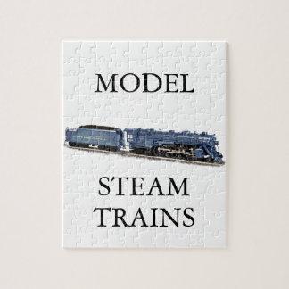 Model Steam Locomotive Jigsaw Puzzle