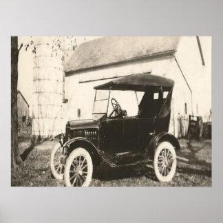 Model T Photo Poster