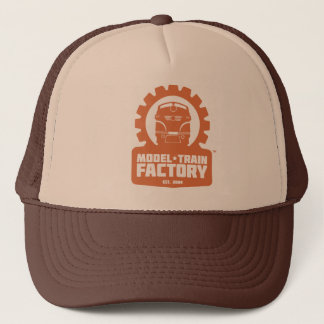 Model Train Factory Crew Trucker Hat