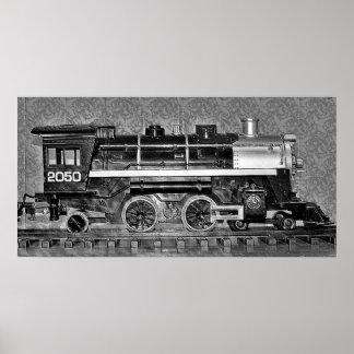 Model Train Poster