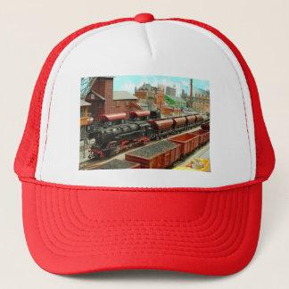 Model Train Station Hat