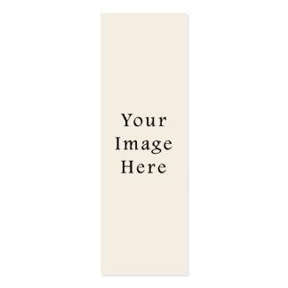 Modèle bronzage en ivoire léger de blanc de tendan carte de visite petit format