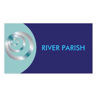 Modèle de carte de logo d affaires cartes de visite professionnelles