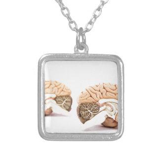 Modèle d'esprits humains d'isolement sur l'arrière collier