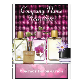 Modèle d'insecte de vente de parfum et de parfum prospectus customisé
