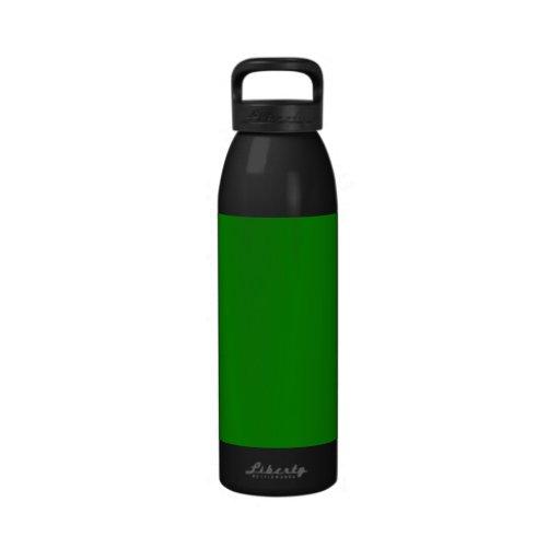 modèle fait sur commande vert d'arrière - plan de  bouteille d'eau