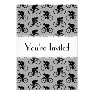 Modèle gris et noir de bicyclette bristol personnalisé