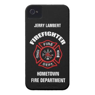 Modèle nommé de sapeur-pompier coques Case-Mate iPhone 4
