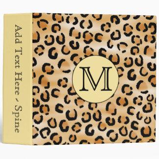 Modèle personnalisé d empreinte de léopard de mono