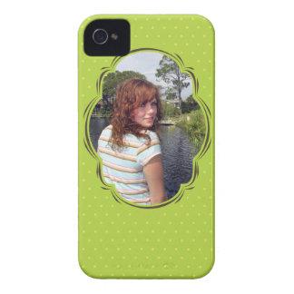 Modèle photo avec le polkadot coques Case-Mate iPhone 4