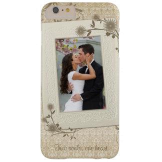 Modèle photo vintage de mariage coque iPhone 6 plus barely there