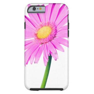 Modèle rose de marguerite - customisé coque tough iPhone 6