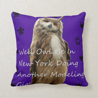 Modeling Gig! Throw Pillow