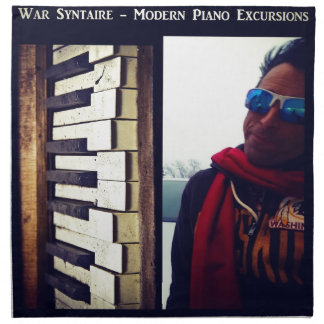 Moden Piano Excursions CD Cover Artwork Napkin