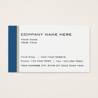 Moder Design Business Card