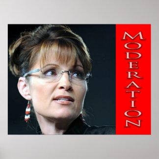 Moderating Sarah Palin? Poster