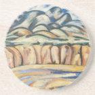 Moderism Landscape, New Mexico by Marsden Hartley Coaster