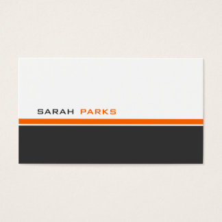 Modern 3 Color B Business Card