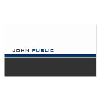 Modern 3 Color C Business Card